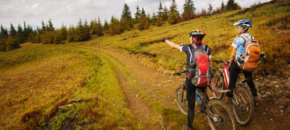 Do More in Spring and Autumn - get out on your bike
