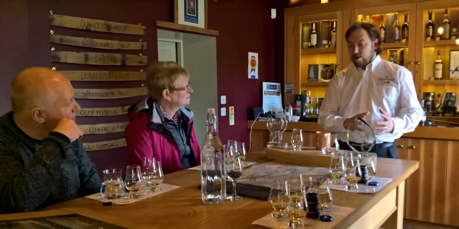 Carnegie Whisky Cellars - Tastings